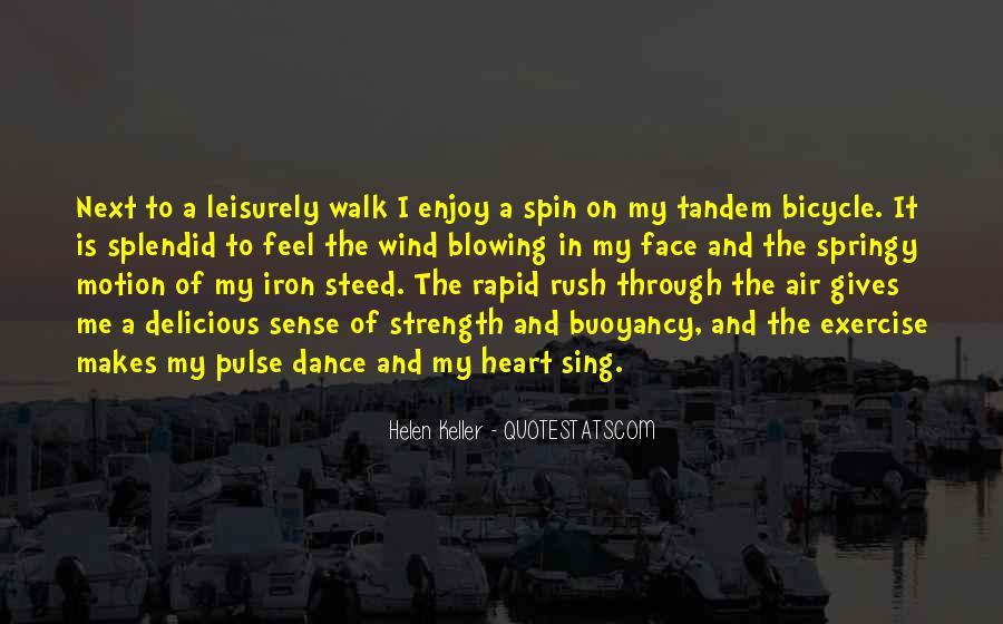 Walk Next To Me Quotes #1327522