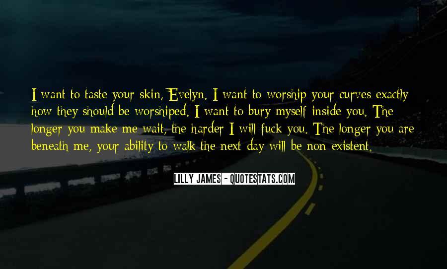 Walk Next To Me Quotes #1870108