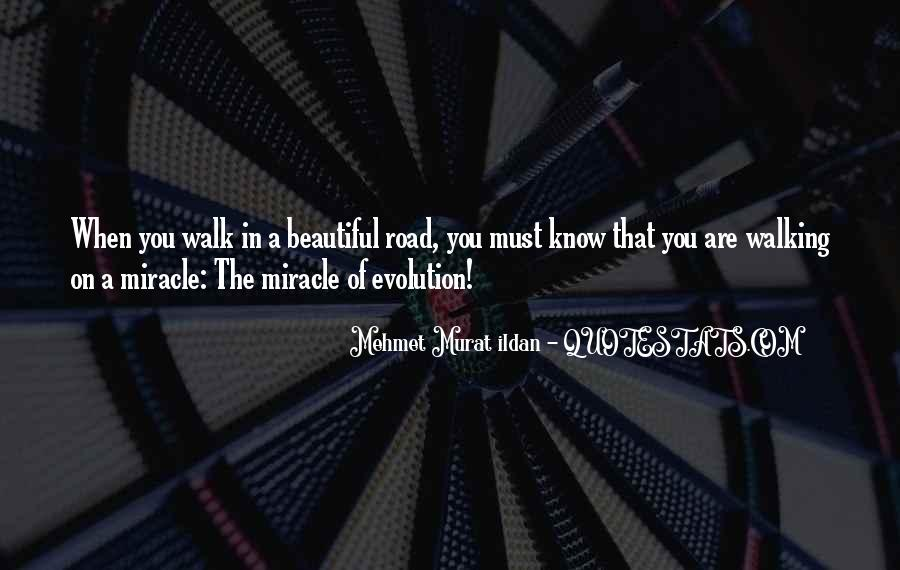 Walk On The Road Quotes #1148765