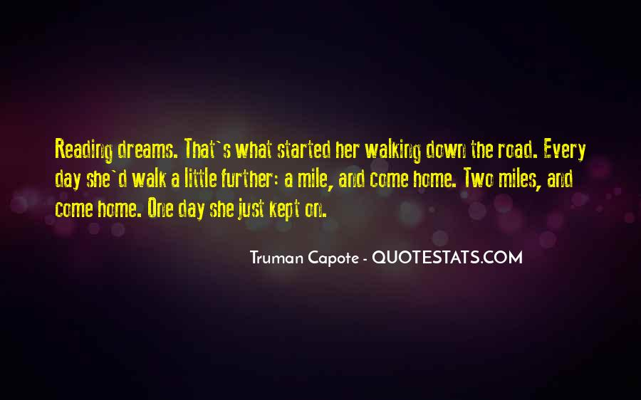 Walk On The Road Quotes #217484