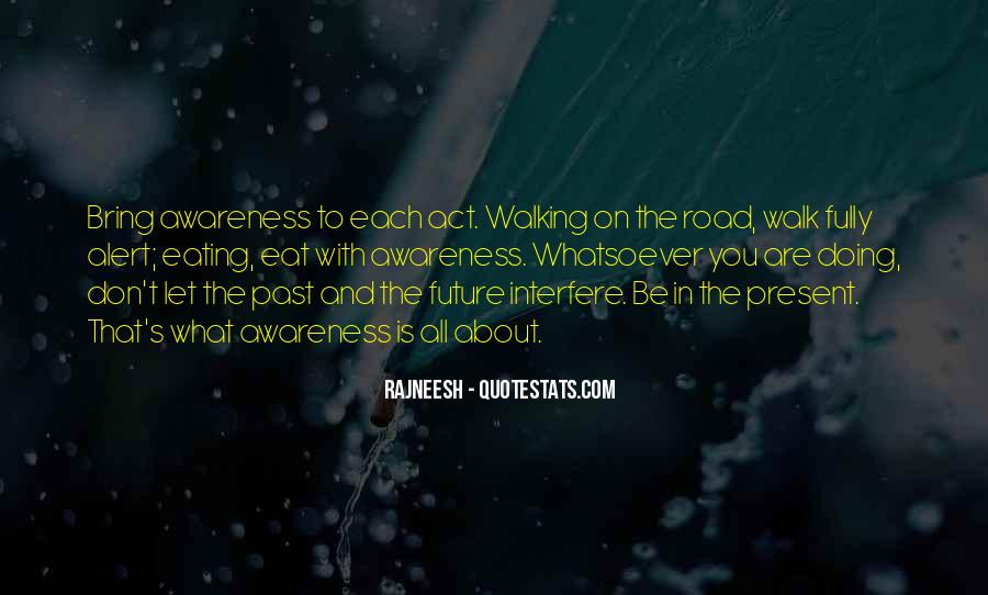 Walk On The Road Quotes #501142