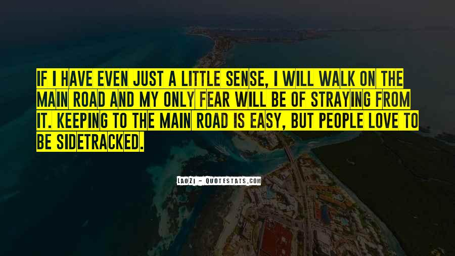 Walk On The Road Quotes #839448