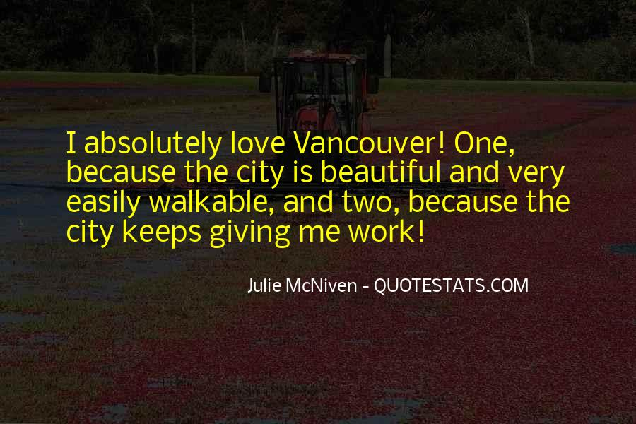Walkable City Quotes #556076
