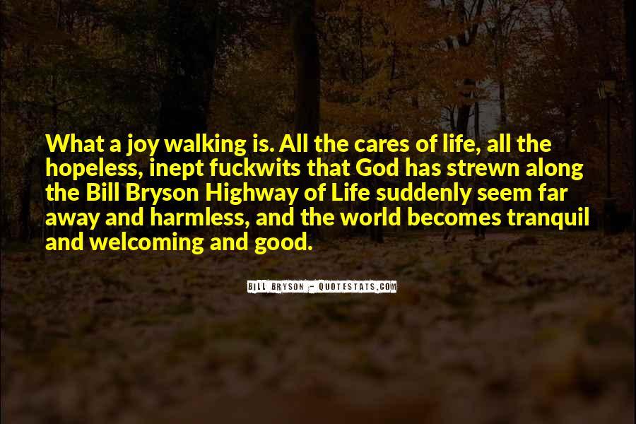 Walking Along Quotes #1087419