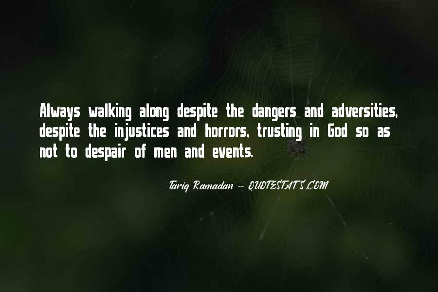 Walking Along Quotes #1275408