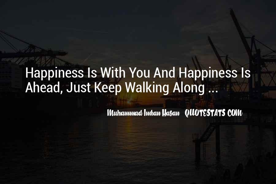 Walking Along Quotes #127870
