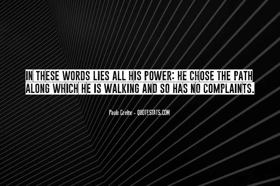 Walking Along Quotes #1391594