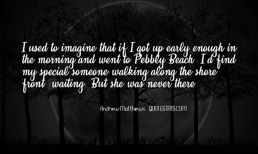 Walking Along The Shore Quotes #230296