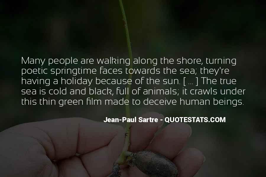 Walking Along The Shore Quotes #241058