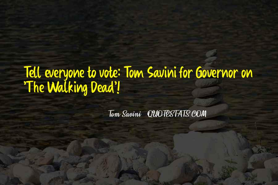 Walking Dead Best Governor Quotes #540488
