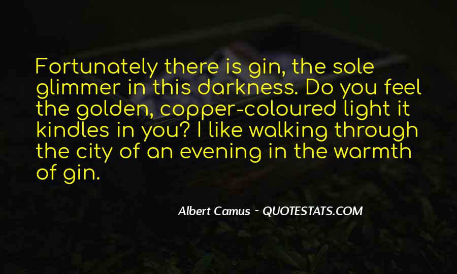 Walking Into The Darkness Quotes #1518085