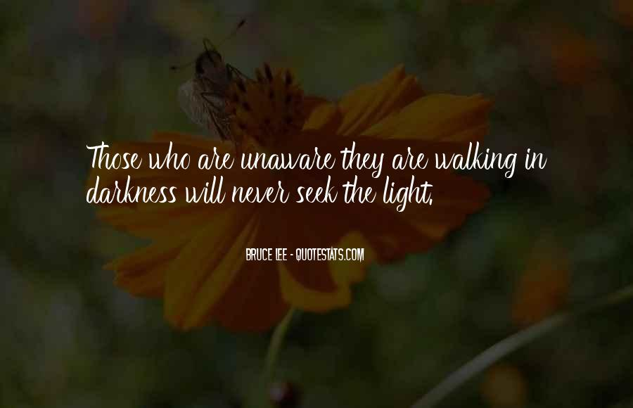 Walking Into The Darkness Quotes #894928