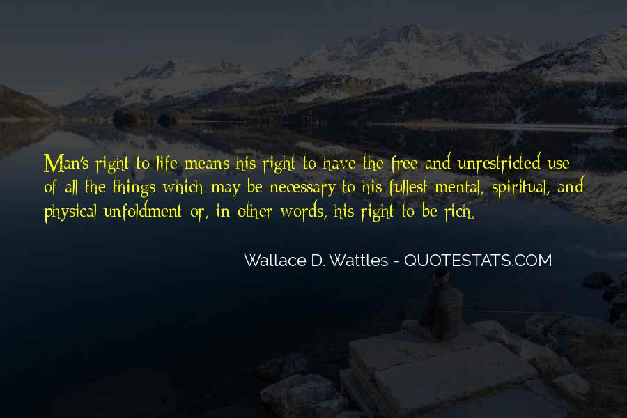 Wallace Wattles Best Quotes #68510
