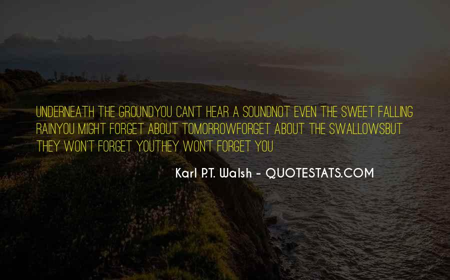 Walsh Quotes #140271