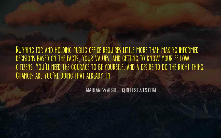 Walsh Quotes #222349