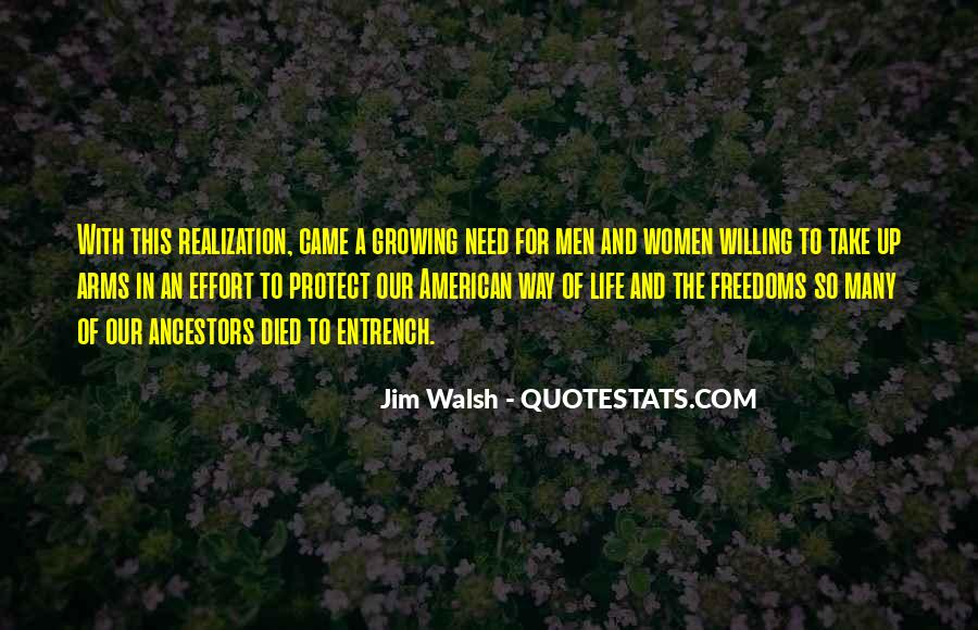 Walsh Quotes #235535