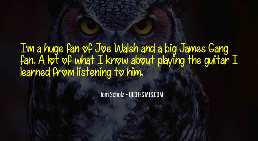 Walsh Quotes #268571