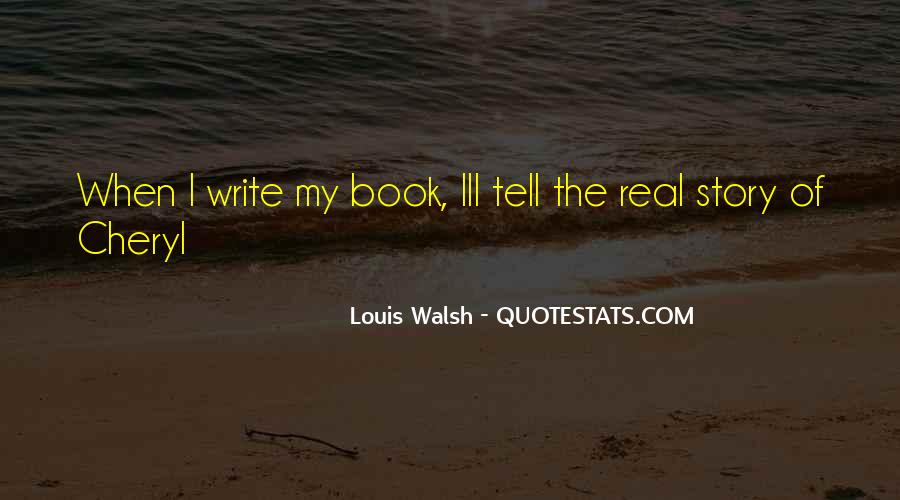 Walsh Quotes #331771