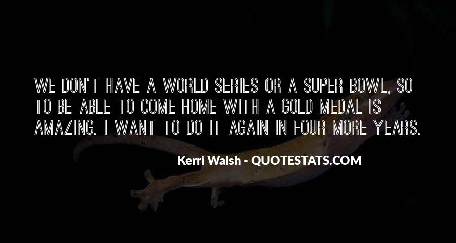 Walsh Quotes #93716