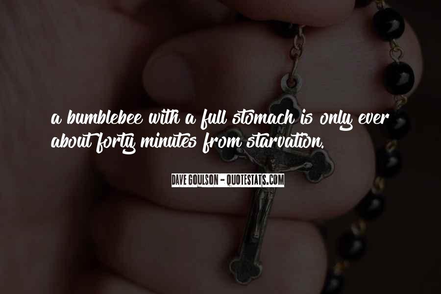 Quotes About Full Stomach #1324917