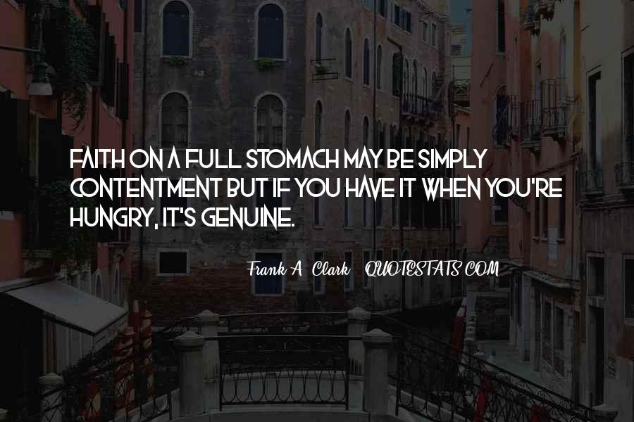 Quotes About Full Stomach #938367