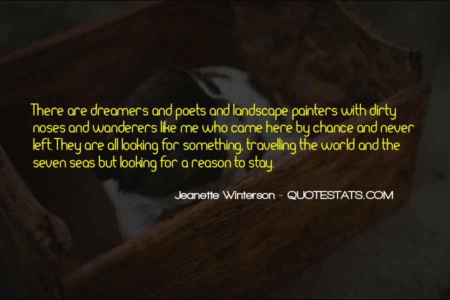 Wanderers Dreamers Quotes #452967