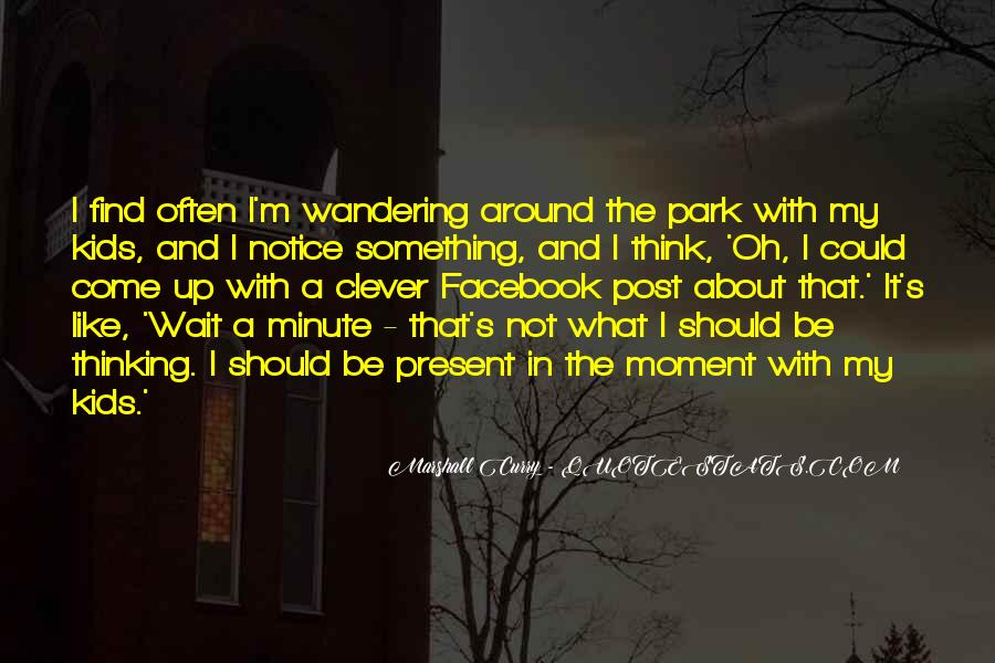 Wandering Off Quotes #111122