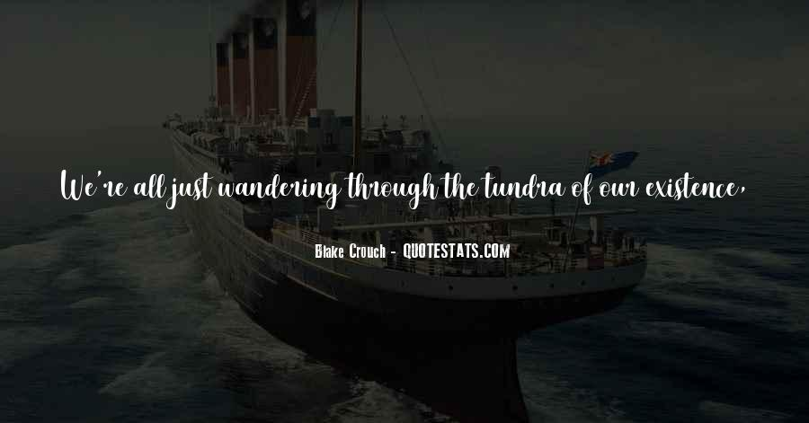 Wandering Off Quotes #137615