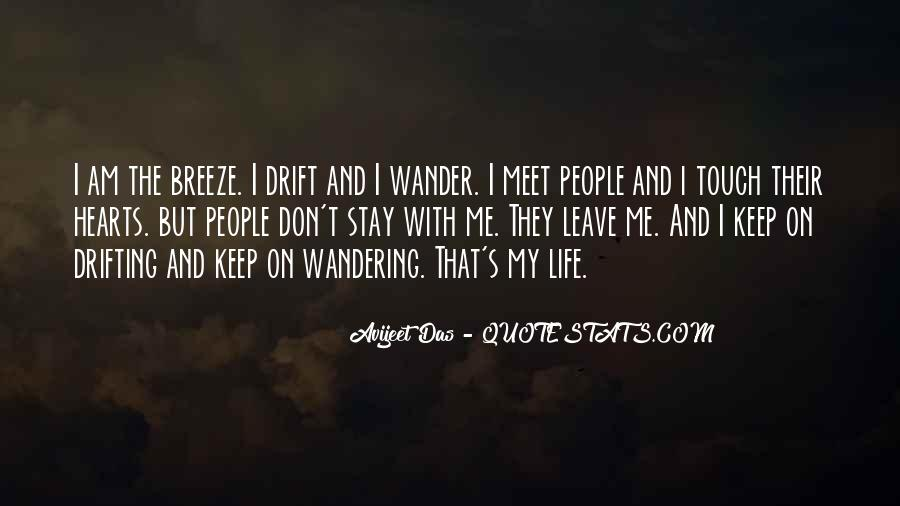 Wandering Off Quotes #143589