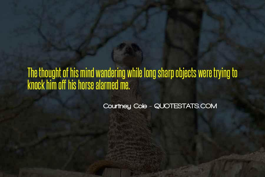 Wandering Off Quotes #226322