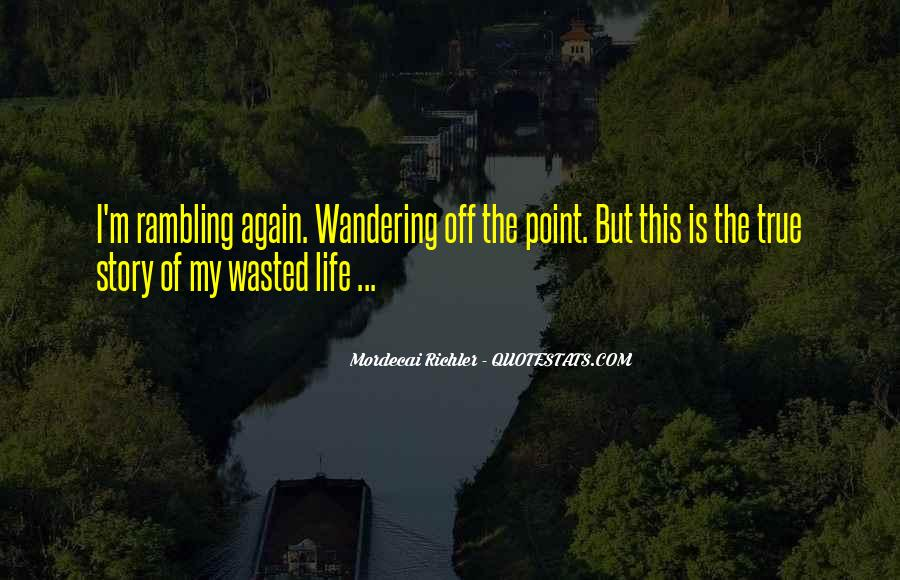 Wandering Off Quotes #269800