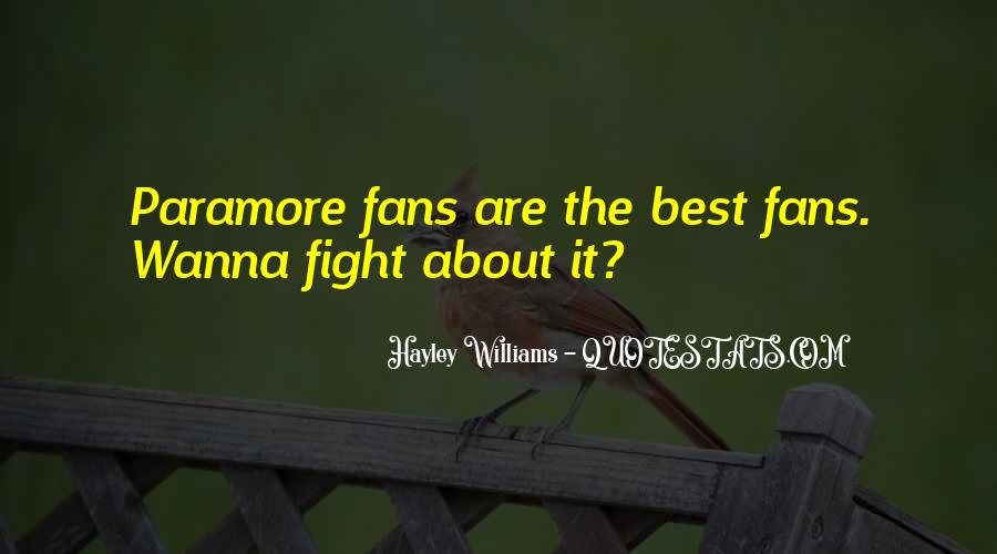 Wanna Fight Me Quotes #1877796