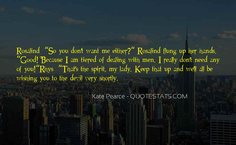 Want To Be With Her Quotes #231023