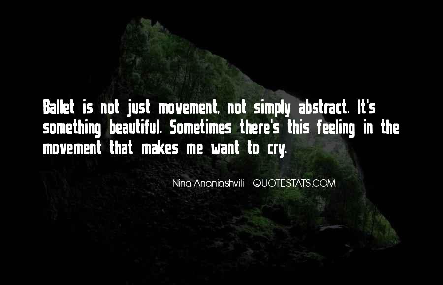 Want To Cry Quotes #361680
