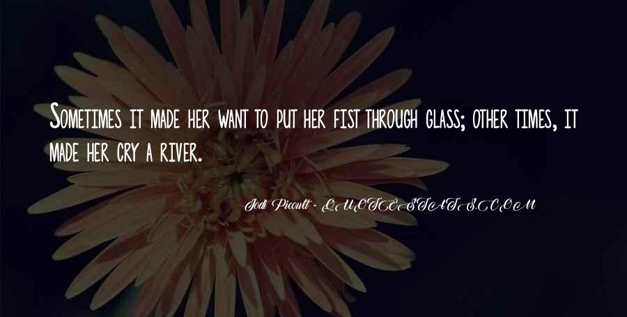 Want To Cry Quotes #441164