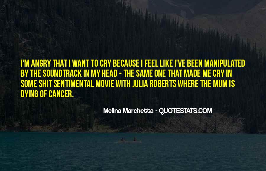 Want To Cry Quotes #694809