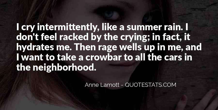 Want To Cry Quotes #9690