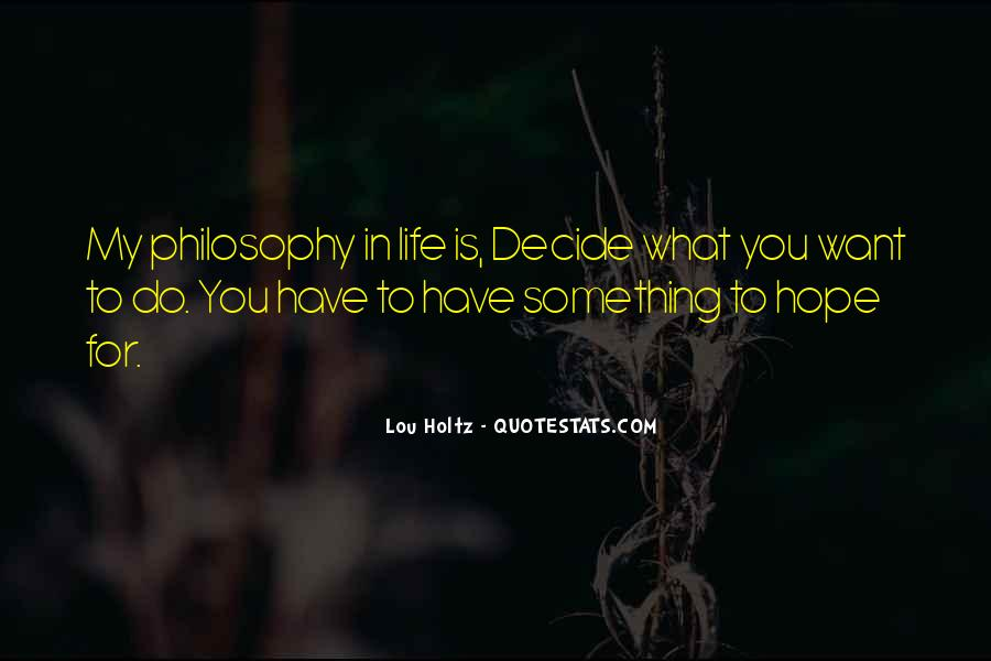 Want To Do Something In Life Quotes #1547317