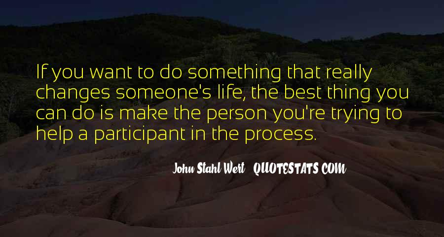 Want To Do Something In Life Quotes #244637