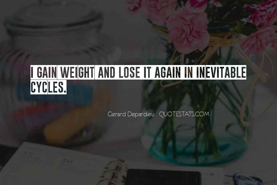 Want To Lose Weight Quotes #134233