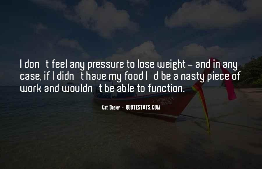 Want To Lose Weight Quotes #152751