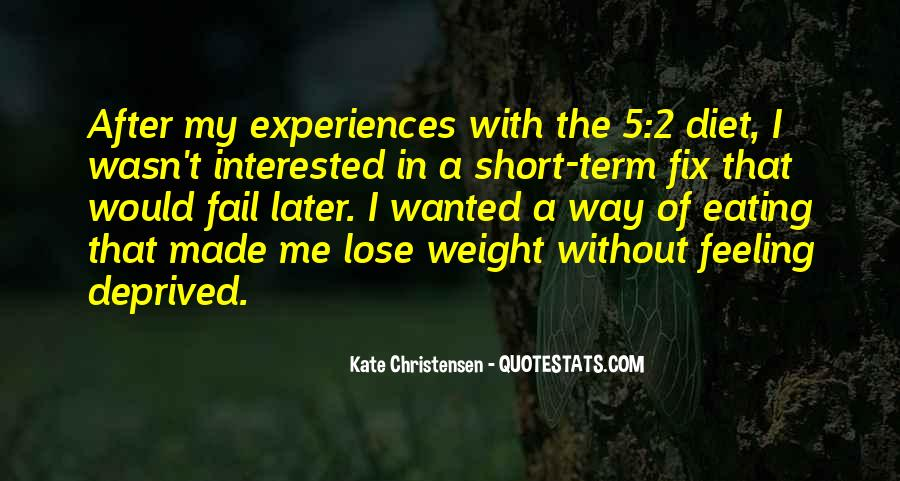 Want To Lose Weight Quotes #165386