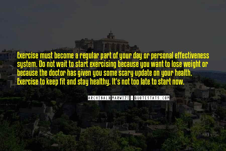 Want To Lose Weight Quotes #1831216