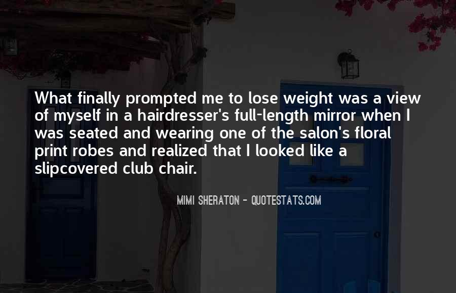 Want To Lose Weight Quotes #192315