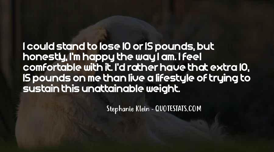 Want To Lose Weight Quotes #204273
