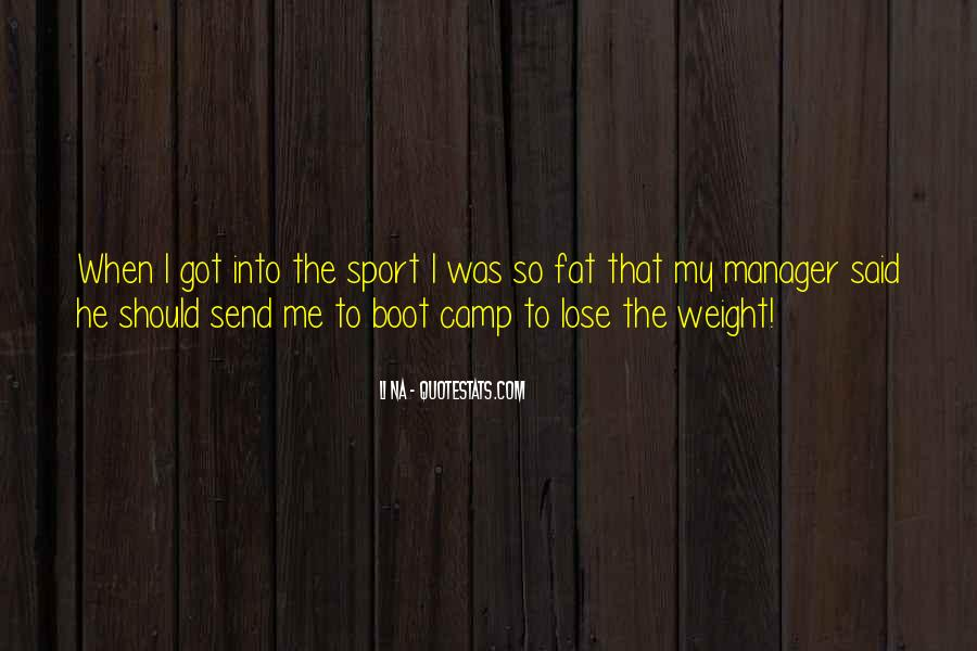 Want To Lose Weight Quotes #23728