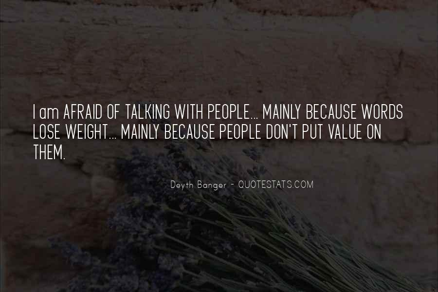 Want To Lose Weight Quotes #2603