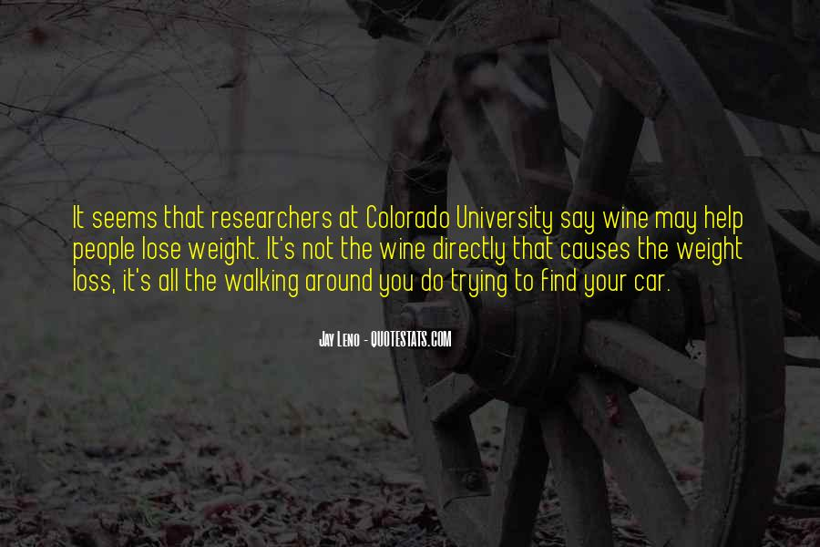 Want To Lose Weight Quotes #272202