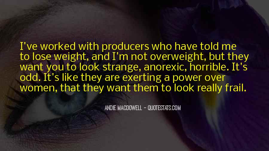 Want To Lose Weight Quotes #283708
