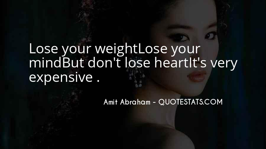 Want To Lose Weight Quotes #328229
